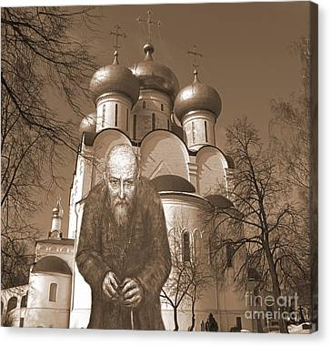 Collaga Glazunov Ilia 6 Canvas Print by Yury Bashkin