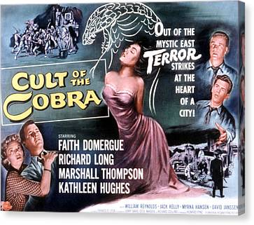 Cult Of The Cobra, Marshall Thompson Canvas Print by Everett