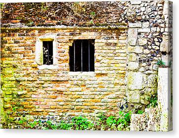 Derelict Building Canvas Print by Tom Gowanlock