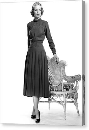Dorothy Mcguire, 1952 Canvas Print by Everett