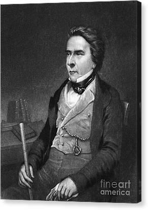 Douglas William Jerrold Canvas Print by Granger