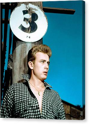 East Of Eden, James Dean, 1955 Canvas Print by Everett