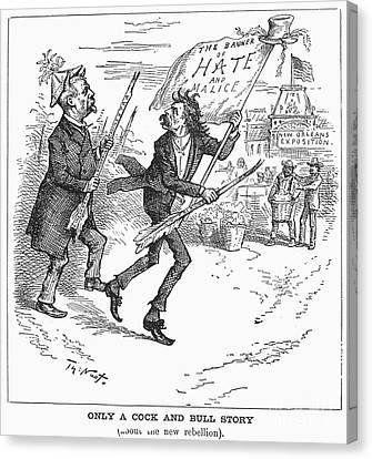 Election Cartoon, 1884 Canvas Print by Granger