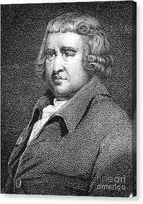 Erasmus Darwin, English Polymath Canvas Print by Science Source