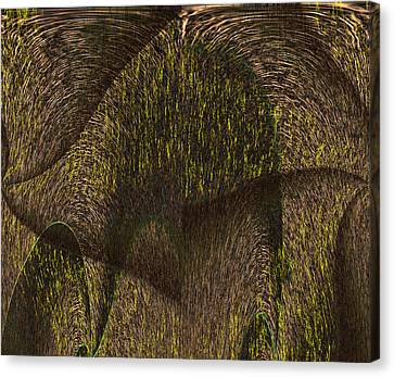 Eris Canvas Print by Christopher Gaston