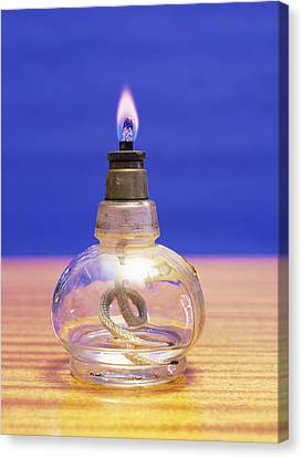 Ethanol Flame Canvas Print by Andrew Lambert Photography