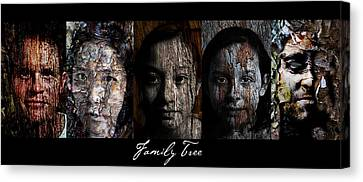 Family Tree Canvas Print by Christopher Gaston