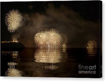 Firework Canvas Print by Odon Czintos