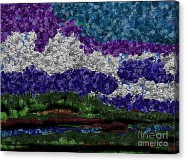 Forest Canvas Print by Anita V Bauer