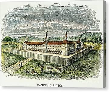 Fort Marietta, Ohio, C1790 Canvas Print by Granger