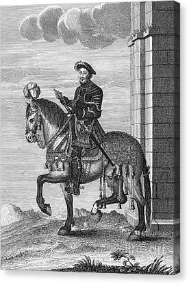 Francis I (1494-1547) Canvas Print by Granger