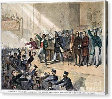 Frederick Douglass, 1860 Canvas Print by Granger
