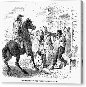 Fugitive Slave Act, 1850 Canvas Print by Granger