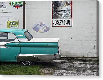 Galaxie  Canvas Print by Lisa Plymell