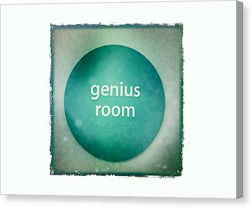 Genius Room Canvas Print by Nina Prommer