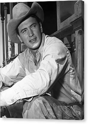 Giant, Rock Hudson, 1956 Canvas Print by Everett