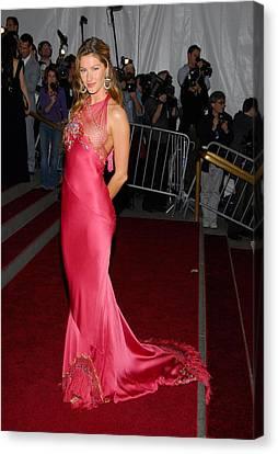Gisele Bundchen Wearing Dior Haute Canvas Print by Everett
