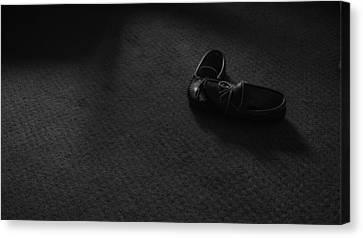 Grandpa's Slippers Canvas Print by Tristan Bosworth