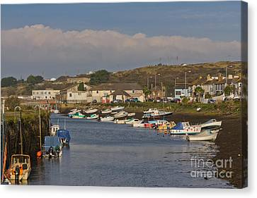 Hayle Harbour Canvas Print by Brian Roscorla