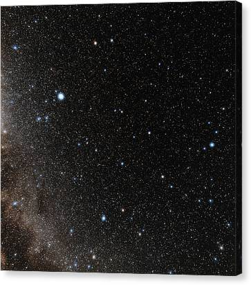Hercules Constellation Canvas Print by Eckhard Slawik