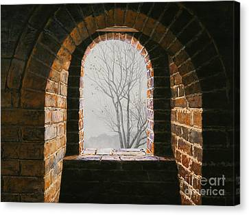 Here Now Canvas Print by Lynette Cook