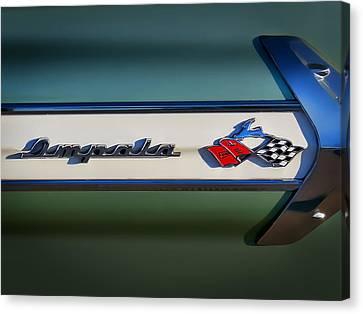 Impala Brightwork Canvas Print by Douglas Pittman