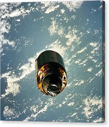 Intelsat Vi, A Communication Satellite Canvas Print by Everett