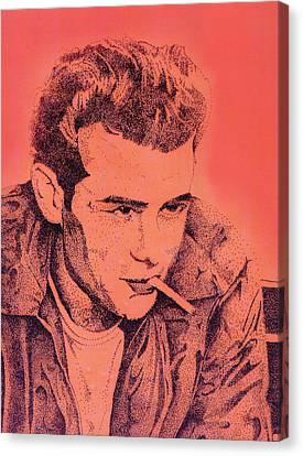 James Dean Canvas Print by Debbie McIntyre