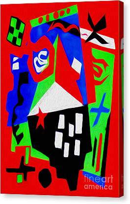 Jazz Art - 04 Canvas Print by Gregory Dyer