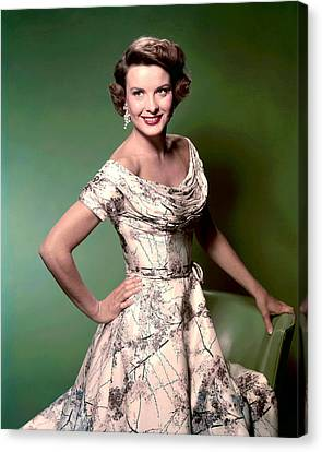 Jean Peters, Ca. 1950s Canvas Print by Everett