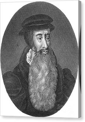 John Knox, Scottish Protestant Canvas Print by Photo Researchers
