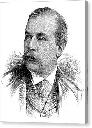 John Pierpont Morgan Canvas Print by Granger
