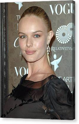 Kate Bosworth At Arrivals For The Art Canvas Print by Everett