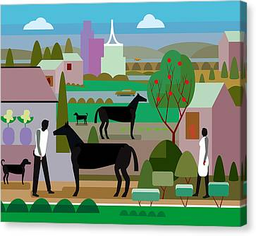 Kentucky Canvas Print by Charles Harker
