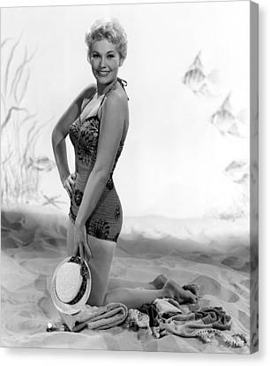 Kim Novak, Columbia Pictures, 1956 Canvas Print by Everett