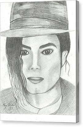 King Of Pop Canvas Print by Gary Miller