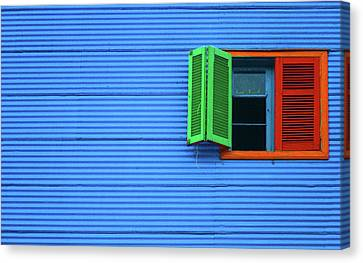 La Boca Canvas Print by Silkegb