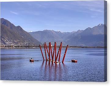 Lake Maggiore Locarno Canvas Print by Joana Kruse