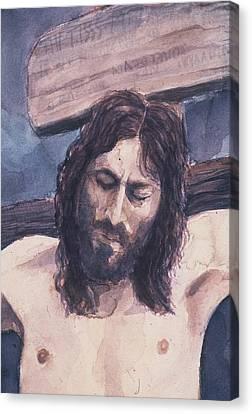 Lamb Of God Canvas Print by Chae Min Shim