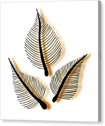 Leaves Canvas Print by Frank Tschakert