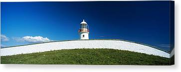 Lighthouse At St Johns Point, Donegal Canvas Print by The Irish Image Collection