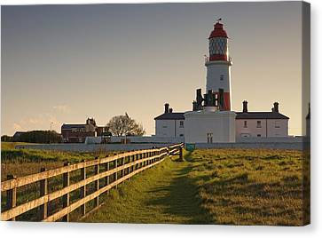 Lighthouse South Shields, Tyne And Canvas Print by John Short