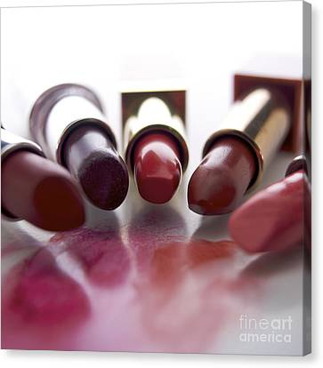 Lipsticks Canvas Print by Bernard Jaubert