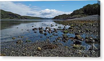 Loch Spelve Canvas Print by Steve Watson
