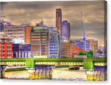 London Canvas Print by Barry R Jones Jr