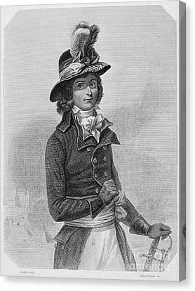 Louis Saint-just (1767-1794) Canvas Print by Granger