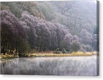 Lower Lake, Glendalough, County Canvas Print by Peter McCabe