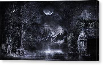 Magical Night Canvas Print by Svetlana Sewell