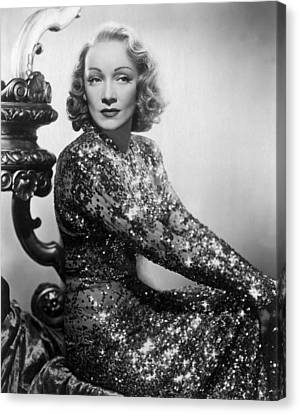 Marlene Dietrich Canvas Print by Everett