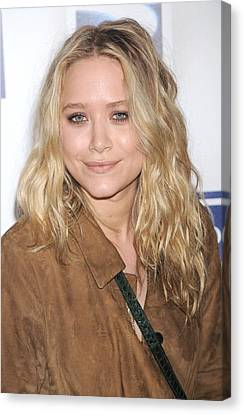 Mary-kate Olsen At Arrivals Canvas Print by Everett